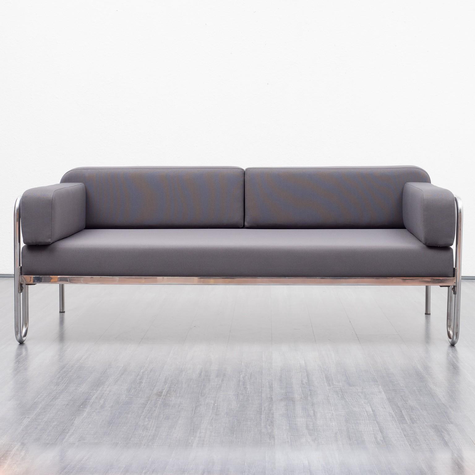 Bauhaus Sofa Vintage New Upholstery 1930s Design Market
