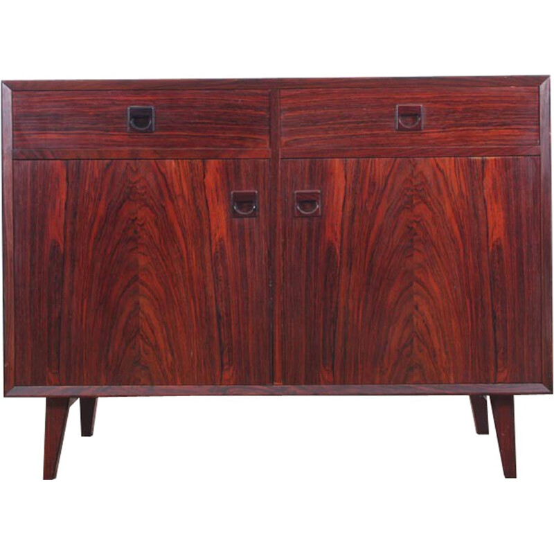 Scandinavian Low sideboard made of Rio Rosewood - 1960s