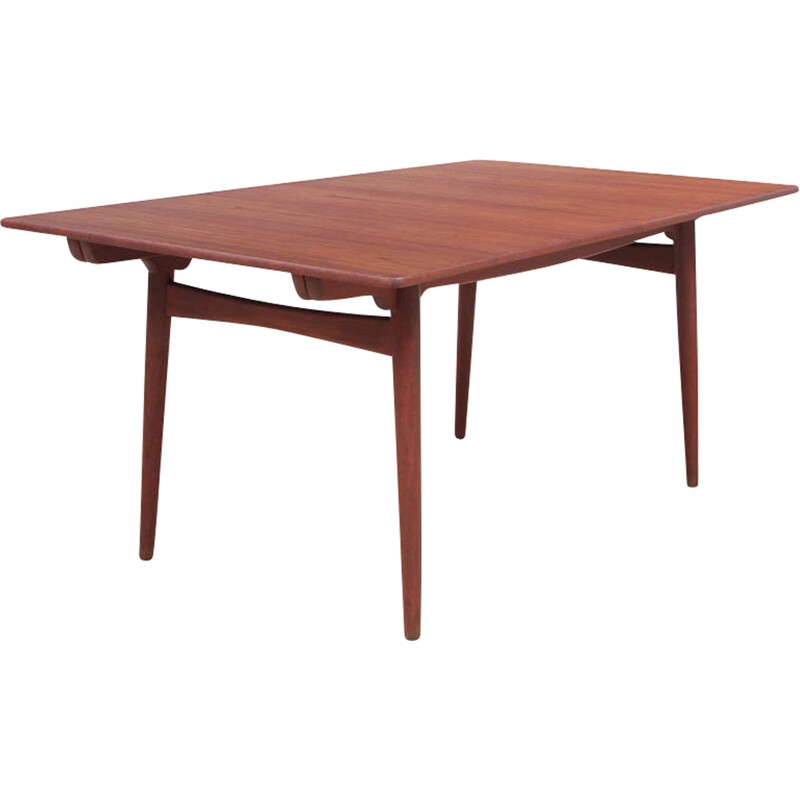 Extendable vintage dining table Model AT-310 by Hans Wegner pour Andreas Tuck - 1950s