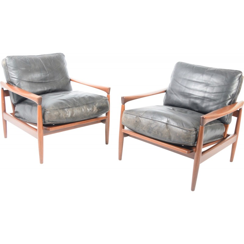 Kolding Easy Chairs By Erik Wörts For Ikea   1962