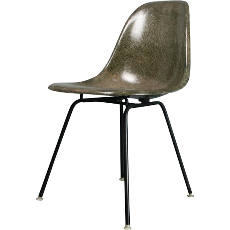 Forest Green DSX Chair by Charles & Ray Eames pour Herman Miller - 1950s