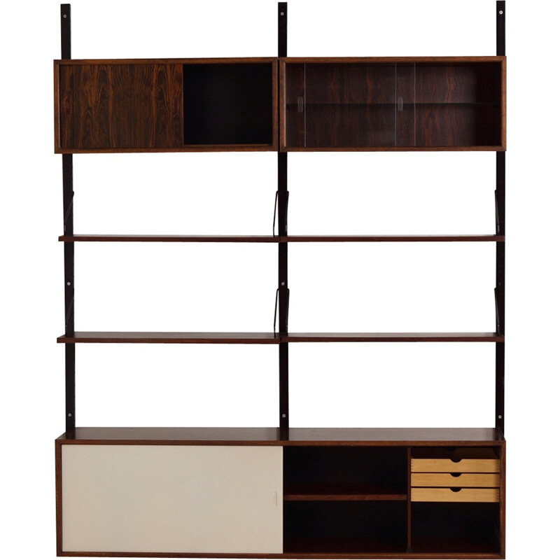 Royal Wall Unit in Rosewood by Poul Cadovius for Cado - 1960s