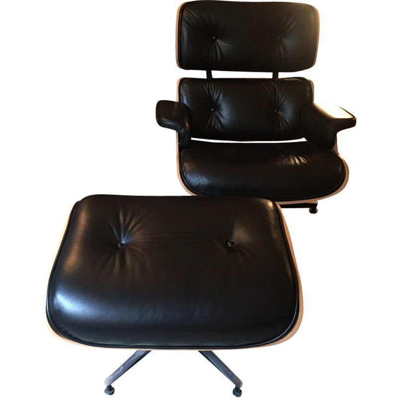 Rosewood Lounge chair and Ottoman by Eames for Herman Miller - 2000