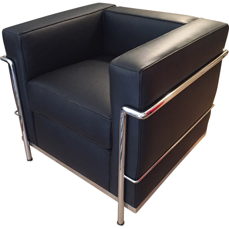 Armchair Lc2 by Le Corbusier for Cassina - 2000s