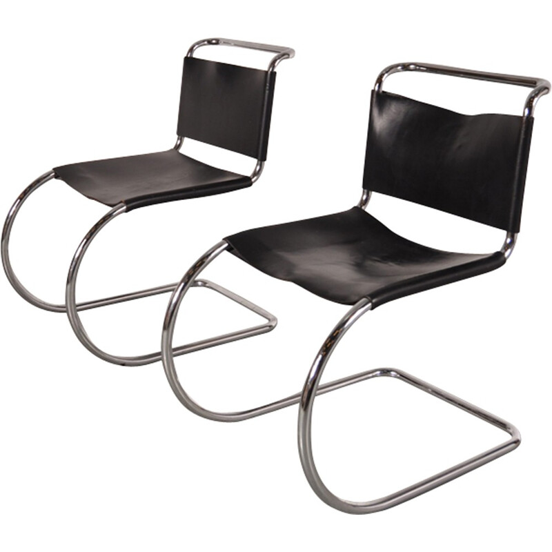 Chair by Mies VAN DER ROHE for Knoll - 1970s