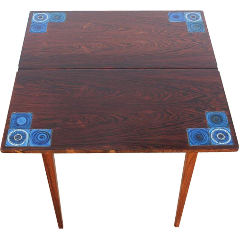 Vintage Rio Rosewood console table - 1960s