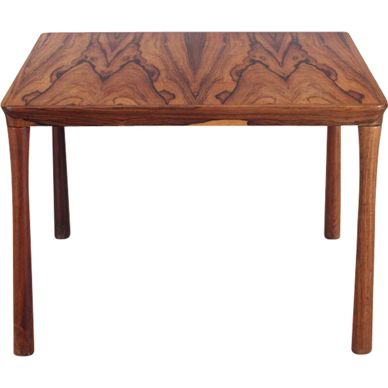 Scandinavian square Table in Rio Rosewood Colorado model - 1950s