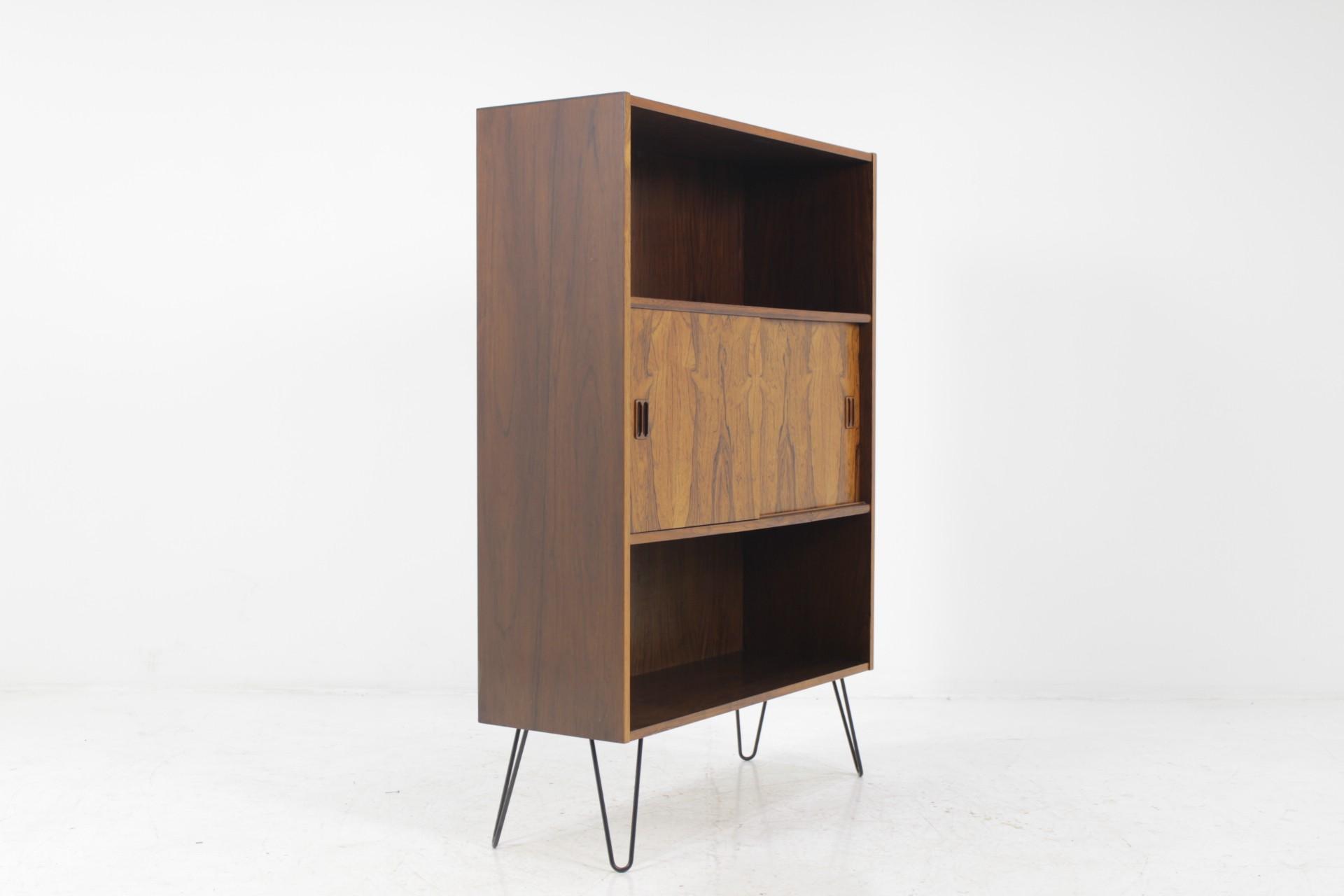 Upcycled Mid Century Danish Palisander Bookcase 1960s