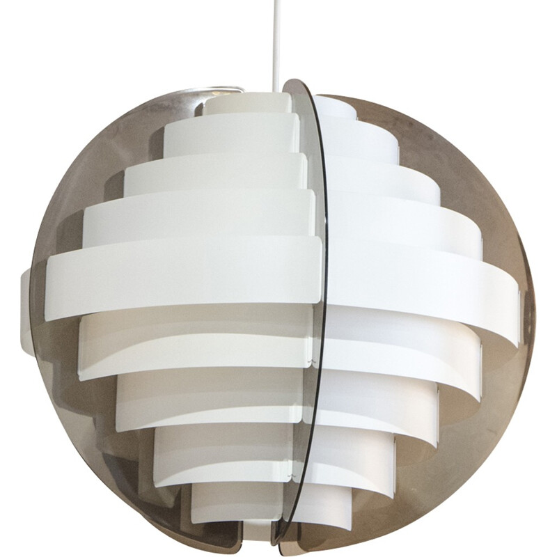 "Vintage ""Strips"" hanging lamp by Flemming Brylle & Preben Jacobsen - 1970s"