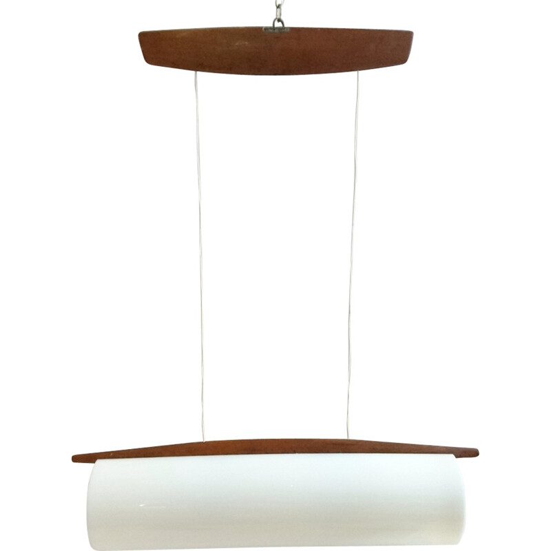 Mid-Century Ceiling Lamp, Model 554 by Uno and Osten Kristiansson for Luxus, Sweden - 1950s