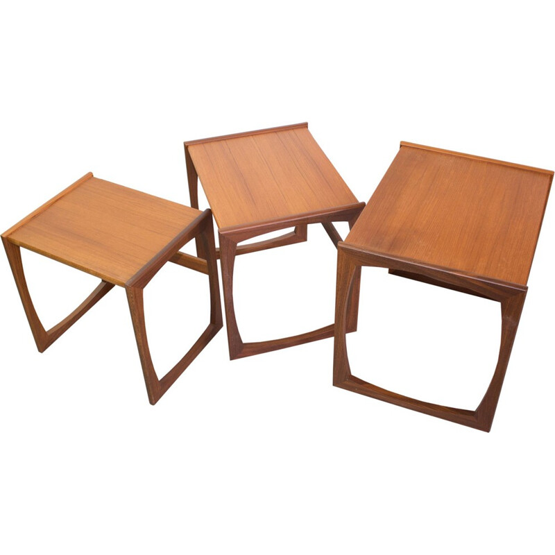 Set of 3 vintage nesting tables for G-Plan - 1960s