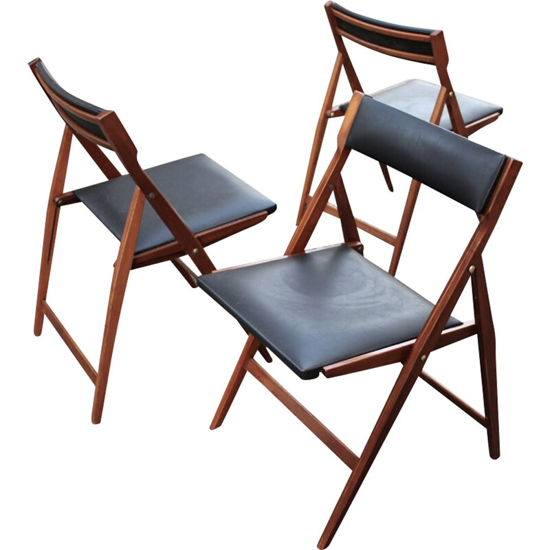 "Vintage ""Eden"" chairs by Gio Ponti - 1950s"