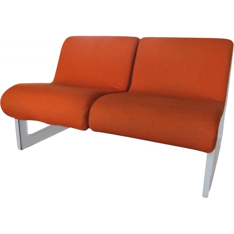 Vintage Space Age Sofa By Artifort 1970s