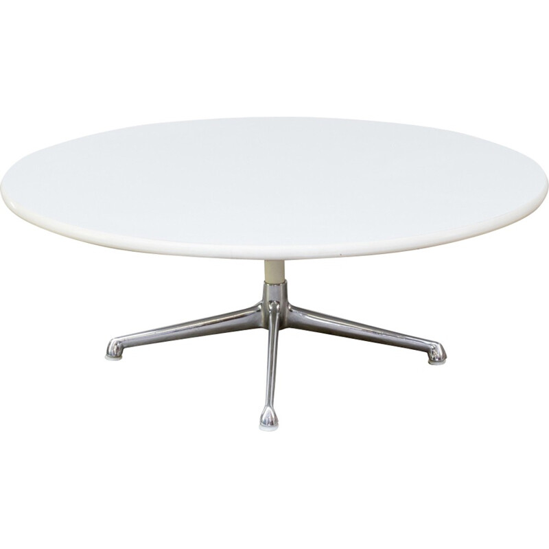 Round coffee table by Eames for Herman Miller - 1980s