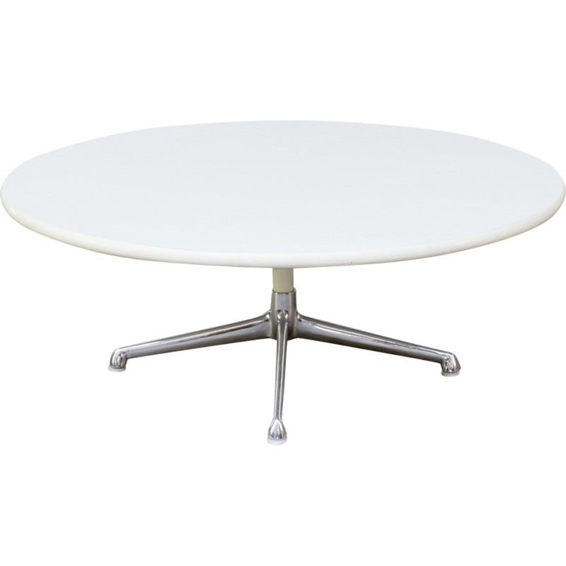 Eames For Herman Miller 1980s, Herman Miller Eames Coffee Table Round