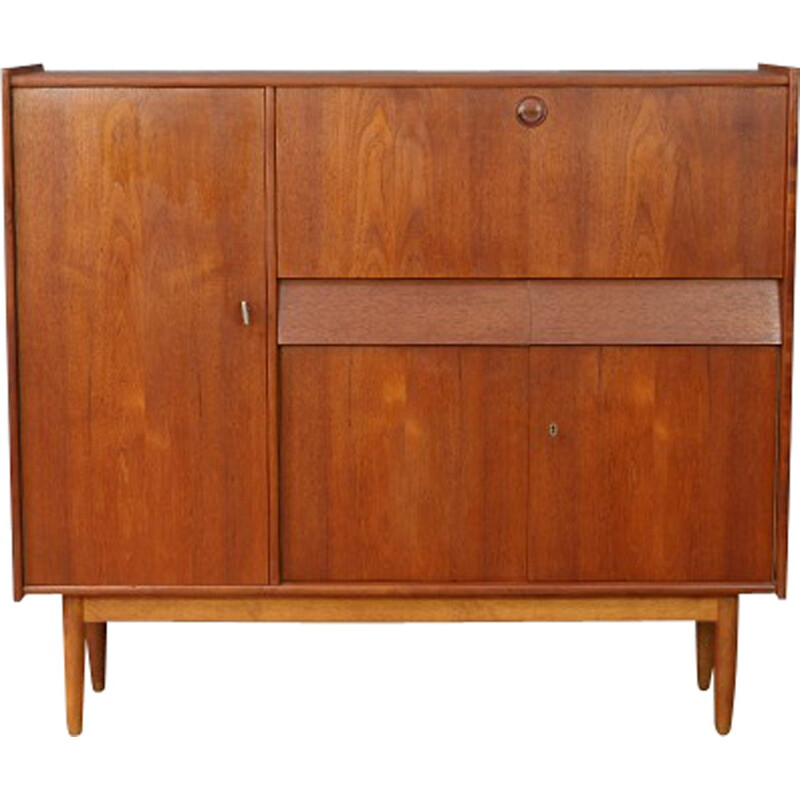 Mid Century Dutch Teak lowboard Dining Cabinet - 1960s