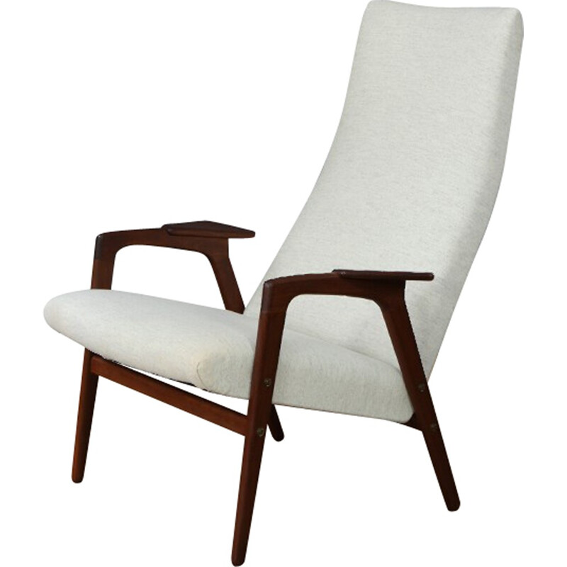 Mid Century Ruster Armchair by Yngve Ekstrom for Pastoe - 1950s
