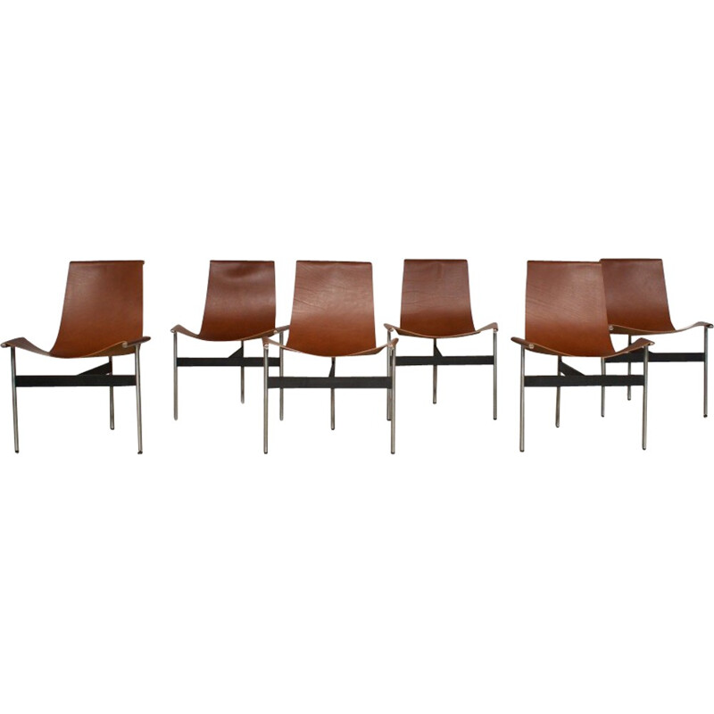 6 3LC Model Chairs by Kelly Ross Littell & William Katavolos - 1950s
