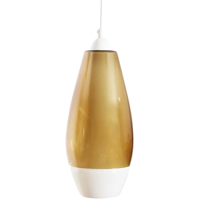 "Vintage ""Rota"" hanging lamp by Jo Hammerborg - 1970s"