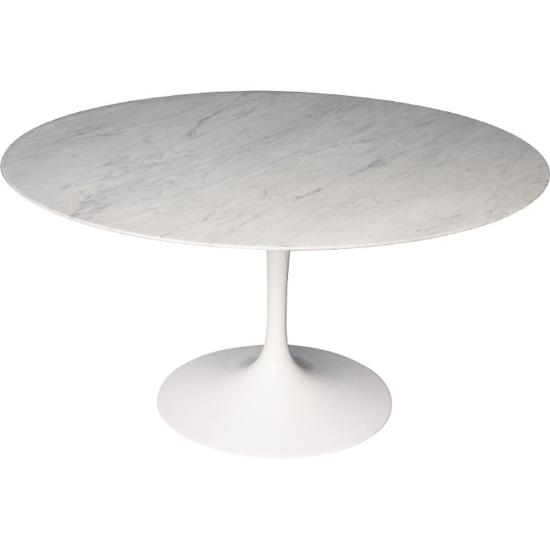 Round vintage Coffee Table by Saarinen pour Knoll - 1970s