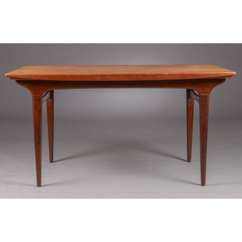 Vintage Scandinavian teak table, Johannes ANDERSEN - 1960s - Design ...
