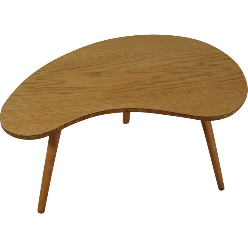 Tripod coffee table by Hugues Steiner - 1950s - Design Market