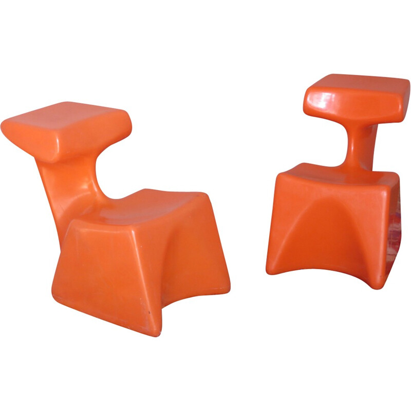 Child chair by Luigi Colani for Gutersloh - 1970s