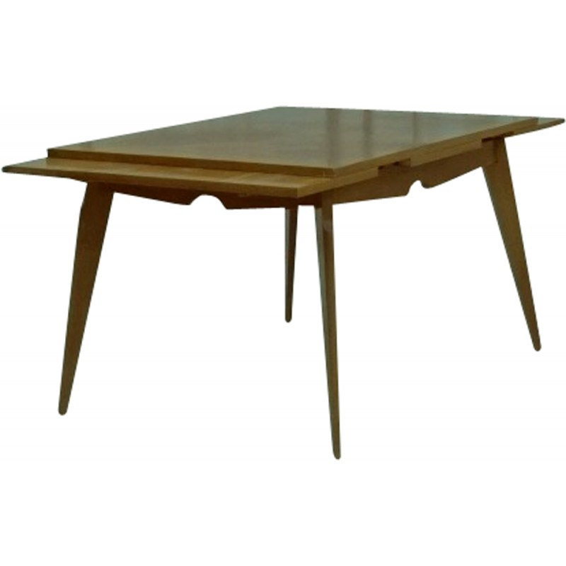Midcentury Solid Oak Dining Table S Design Market - Mid century oak dining table