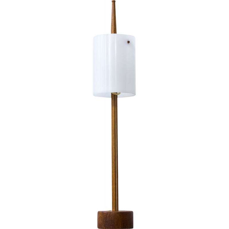 Mid Century Swedish Table Lamp by Uno & Östen Kristiansson for Luxus 1950s