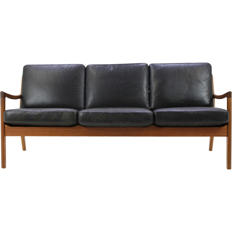 Vintage teak sofa by Ole Wanscher - 1960s