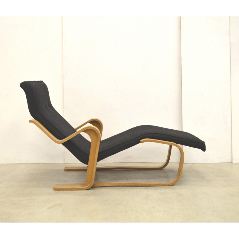 vintage black chaise longue by marcel breuer for isokon 1950s design market - Chaise Vintage