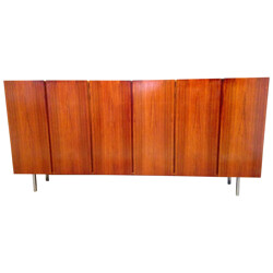 Large sideboard in brazilian rosewood, Dieter WAECKERLIN - 1960s