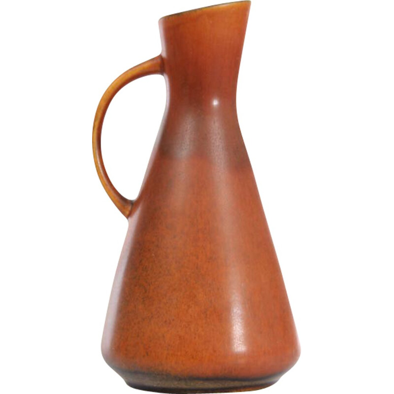 Large scandinavian ceramic pitcher by Gunnar Nylund for Nymölle - 1970s