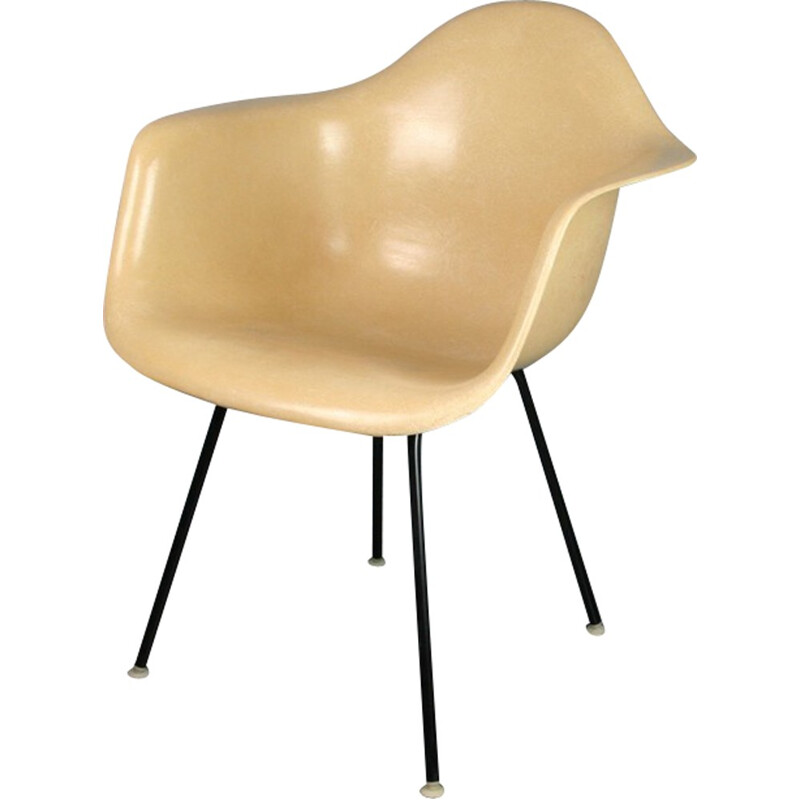 Vintage DAX armchair by Eames for Herman Miller - 1960s