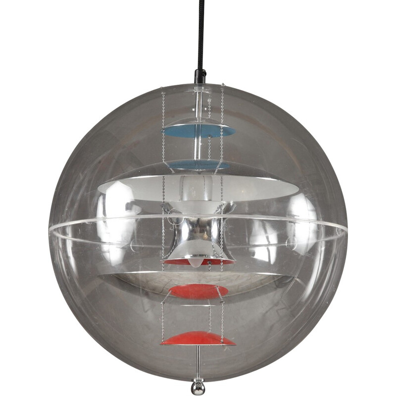 VP Globe hanging lamp by Verner Panton for VerPan - 2000s