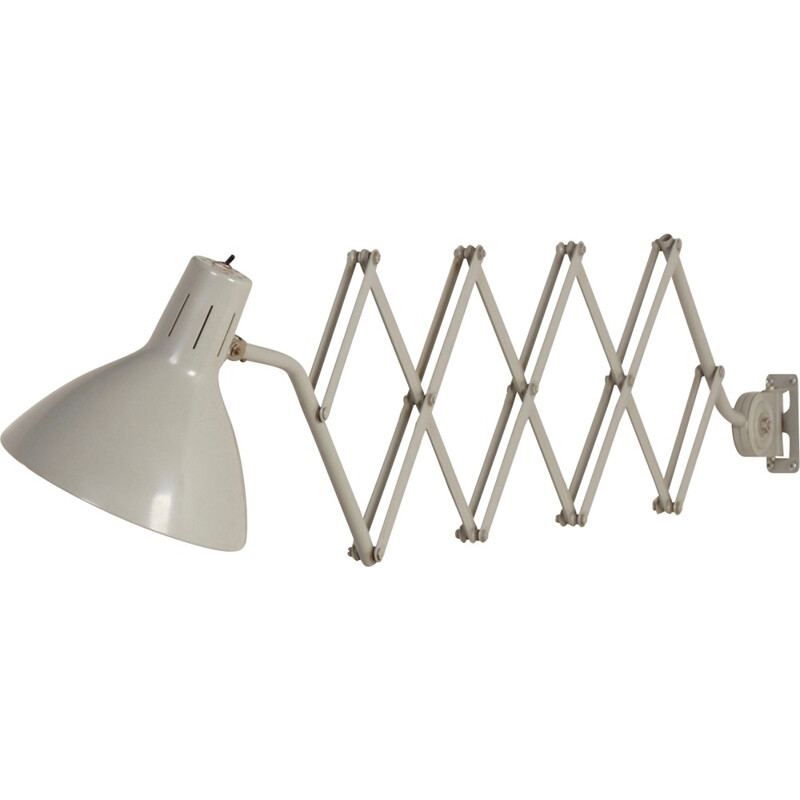 Industrial Scissors Wall Light 110 by H.Th.J.A Busquet for Hala - 1960s