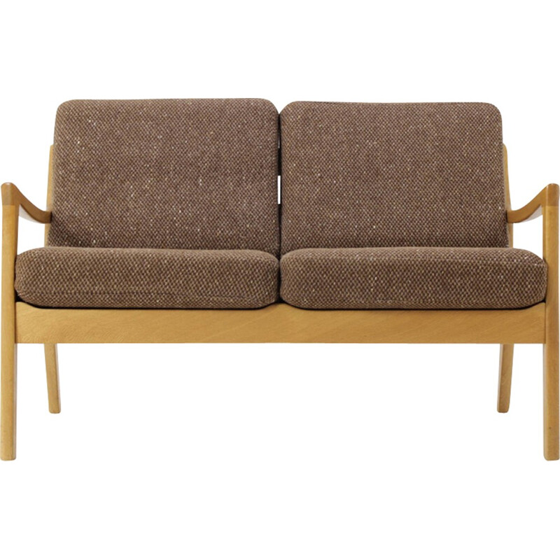 Vintage sofa in oakwood by Ole Wanscher - 1960s