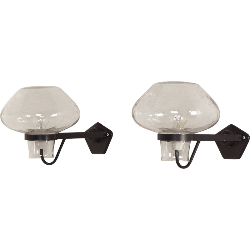 Pair Wall Lamps by Gunnar Asplund for Asea Sweden - 1960s