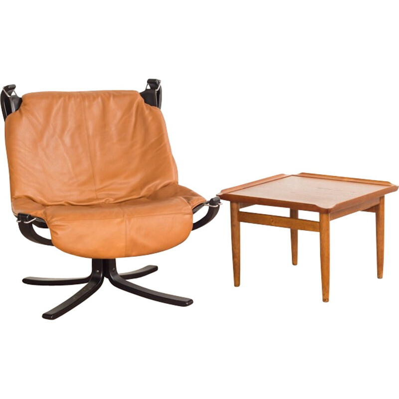 Falcon chair by Sigurd Ressell for Vatne Mobler - 1960s