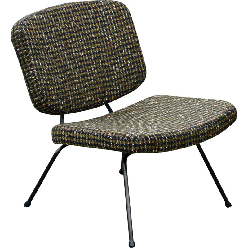 Low chair CM 190 by Pierre PAULIN Thonet  - 1950s