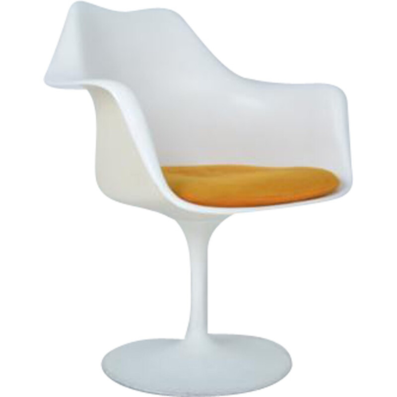 "Swivel armchair ""Tulip"" by Eero Saarinen for Knoll International - 1960s"