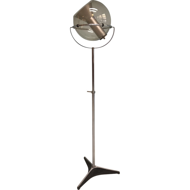 Vintage floor lamp by Frank Ligtelijn for Raak - 1970s