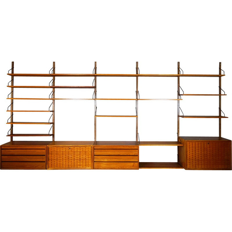 Vintage Royal System shelf by Poul Cadovius for Cado - 1950s