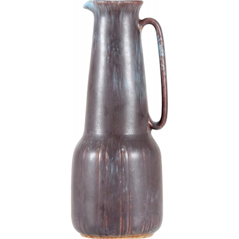 Large ceramic pitcher by Gunnar Nylund for Rorstrand - 1960s