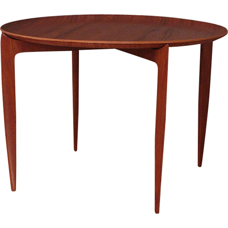 Teak Side table by Svend Age Willumsen & H. Engholm for Fritz Hansen - 1950s