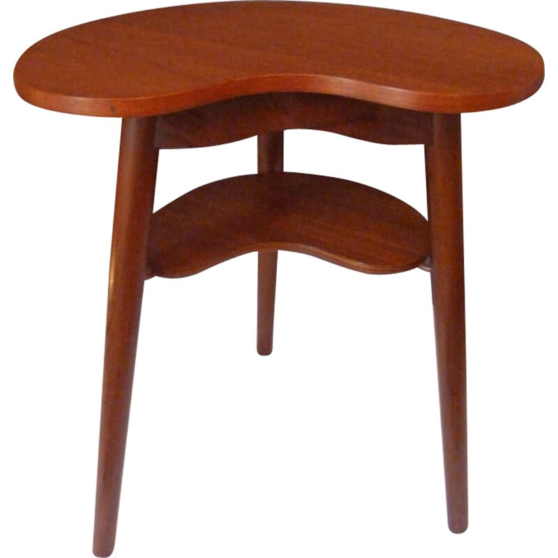 Vintage Scandinavian side table produced by Gorm Mobler - 1960s