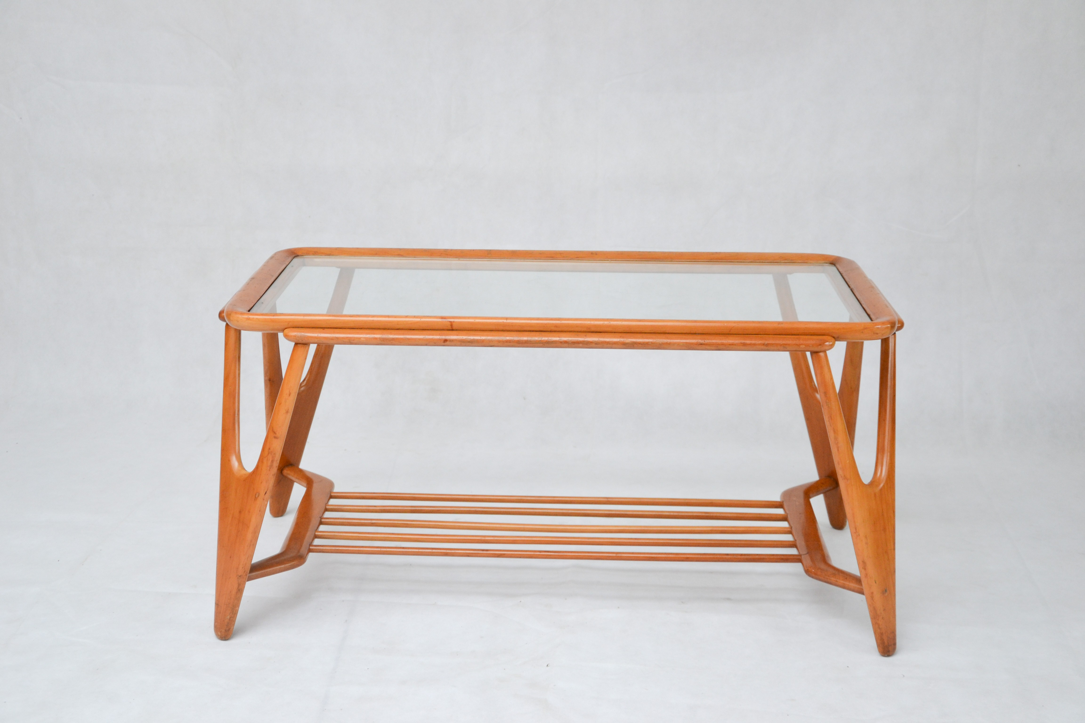 Vintage coffee table by cesare lacca for cassina 1950s design previous next geotapseo Image collections