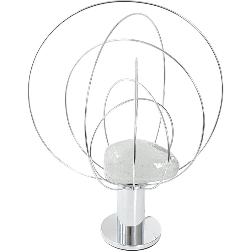 Table Lamp by Angelo Brotto, Fase Edition - 1970s