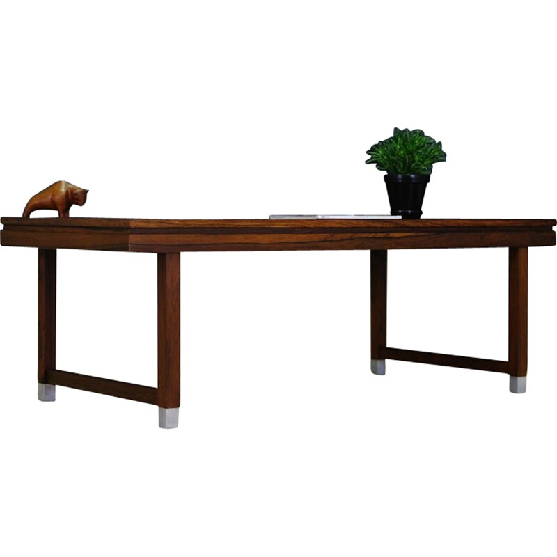 Danish Rosewood Coffee Table by Kai Kristiansen - 1960s**Authentification