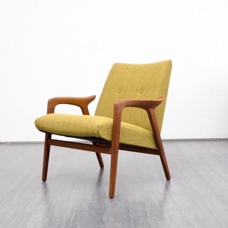 Scandinavian style armchair in oak - 1950s - Design Market